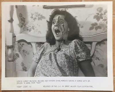 RUBY (1977) - set of front of house stills