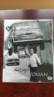 Lindsay Wagner Sommers Bionic Woman Signed Autograph Autographed Photo Bam Box
