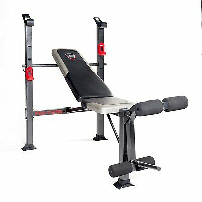 CAP Barbell Standard Workout Exercise  Bench Black/red New
