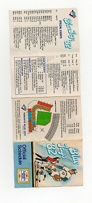 1982 Toronto Blue Jays Schedule ( Exhibition Stadium )