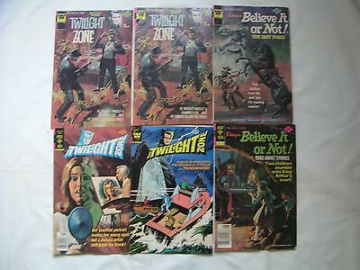 Twilight Zone Ripley's Believe It Or Not! Lot Of 6