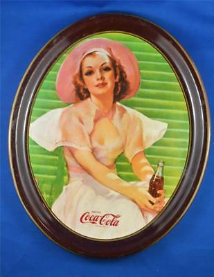 1977 Reproduction Of 1938 Limited Edition Canadian Vintage Coca-Cola Tray