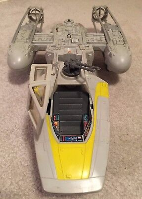 Star Wars Y-Wing Fighter Vehicle 1984 Return of the Jedi