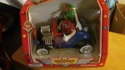 M & M's collectible rebel with out a clue roadster dispenser new in box