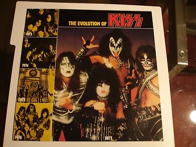 KISS Alive II  The Evolution of KISS   Insert Booklet 8 color pages  Original