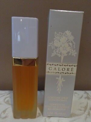 Vintage Germaine Monteil Galore Cologne Spray Concentrate 2 Oz. Full N Box