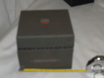 Tag Heuer Case with pillow and box
