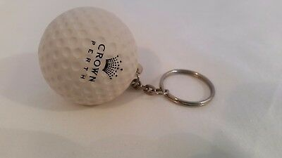Collectable Keyring Golf Ball Crown Perth Casino