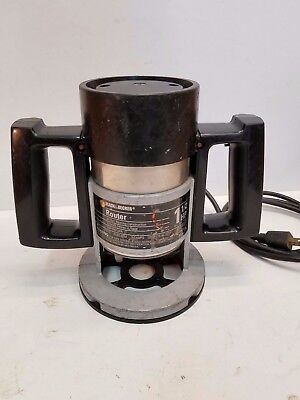 Black and Decker 1 1/2 HP Ball Bearing Router model 7613, 25,000 RPM, 9 amps