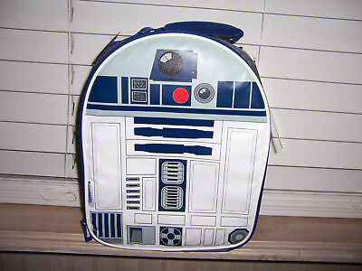 Disney Star Wars R2D2 Insulated Lunch Kit Soft Lunchbox NWT PVC FREE