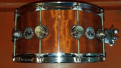 DW 6.5x14 Collectors Exotic Private Reserve Giant Quilted Sapele over VLT Maple