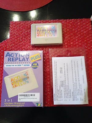 ✨SALE Sega Saturn Action Replay Plus Cartridge Pseudo Saturn Backups & Imports✨