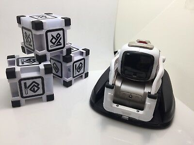 Cozmo Robot Toy by Anki W/ 3 Blocks Charging Dock