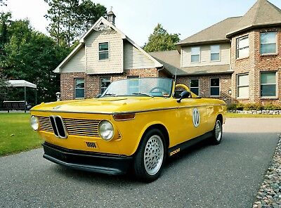1973 BMW 2002 No Reserve! BMW 2002! E10! 4-Speed! Roundie! Rally Car! SCCA! Alpina! ACR! Vintage Race Car!