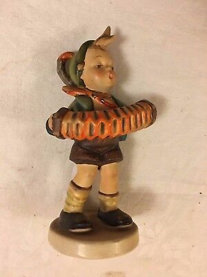 Hummel Goebel Accordion Boy 185 Measures 5-1/2 Inches Tall