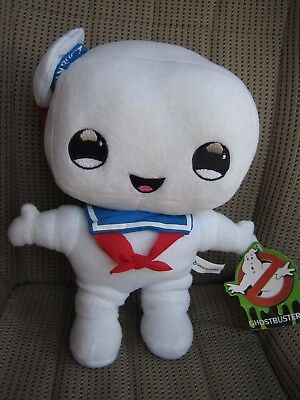 "New 2017 GHOSTBUSTERS 11.5"" CARICATURE STAY PUFT Plush Toy Factory Sugar Loaf"