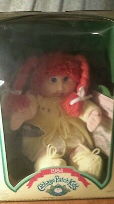 1984 Cabbage Patch Kid Red Hair Blue Eyes DOTTY ADDI