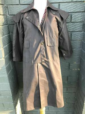 Oilskin Coat - 3/4 Length