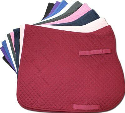 Quilted Dressage Saddlecloth