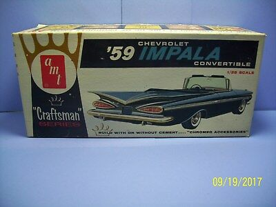 Amt 4013-100 1959 Chevrolet Impala Convertible Box Only