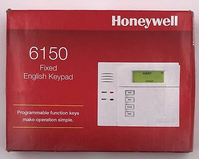 Honeywell Ademco 6150 Fixed English Keypad Brand New (Never Opened) On Sale!