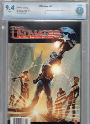 Ultimates #1 CBCS 9.4 not CGC by Mark Millar with art by Bryan Hitch Avengers