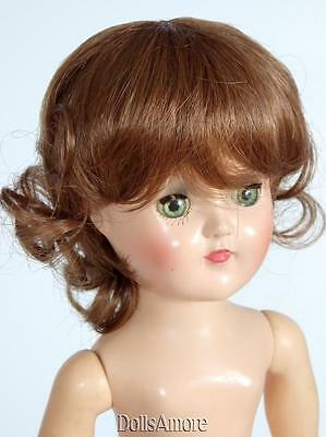 "Doll Wig Auburn  Size 10/11"" Fits Vintage And Modern Dolls"