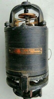 Antique electric motor patented 1909