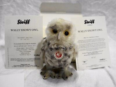 Steiff Wally Snowy Owl Ltd Ed 1500 EAN 036927 14 CM 2011