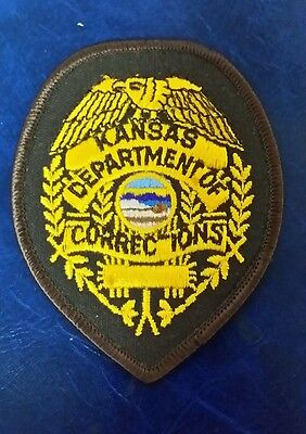 Kansas Department Of Corrections Missing T Police Badge