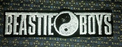 BEASTIE BOYS (WHITE) Iron or Sew-On Patch