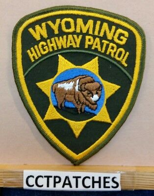 Wyoming Highway Patrol Police Patch Wy