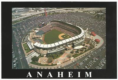 Edison Field Anaheim Angels Baseball Stadium Postcard