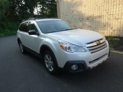 2013 Subaru Outback 2.5i Limited AWD Outback 2.5i Limited AWD pearl white wood trim sunroof backup camera Warranty!