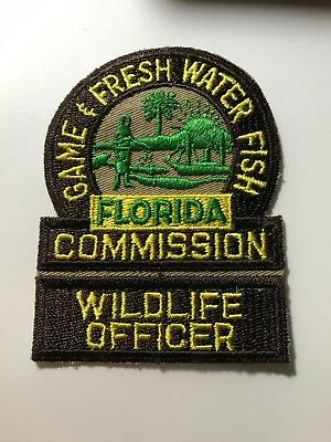 Old Defunct Florida FL Game and Fish Commission Wildlife Officer Police Patch