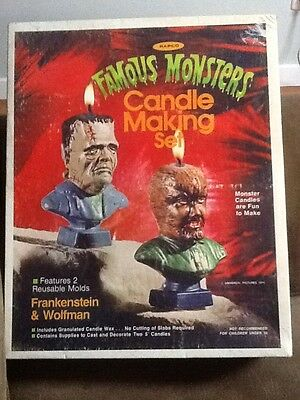 Rapco toys Famous Monsters 1974 Famous Candle Making Set
