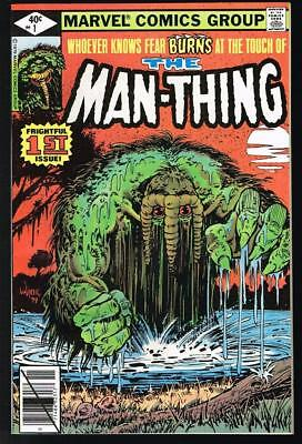 5 HG Marvel 1st issues: Guardians of the Galaxy 1 9.6, Man-Thing 1 9.2, Namor 1