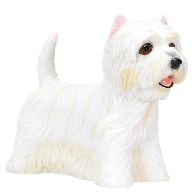 West Highland Terrier Westie Dog - Collectible Statue Figure Yorkie