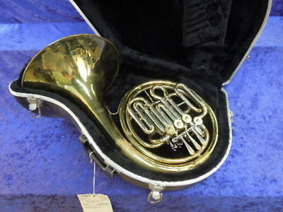 Getzen Double French Horn Good used Cond. Ser#47920