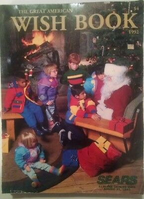 1992 The Great American Wish Book Sears Christmas Catalog