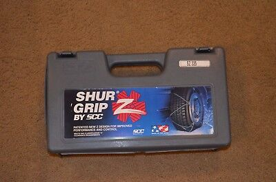 NEW SCC Shur Grip Z Winter Snow Tire Cable Wheel Chain SZ335