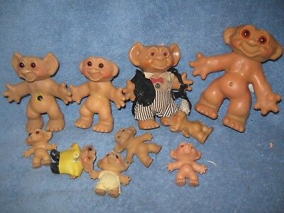 Vintage Dirty Troll Lot For Parts Or Ooak Lqqk