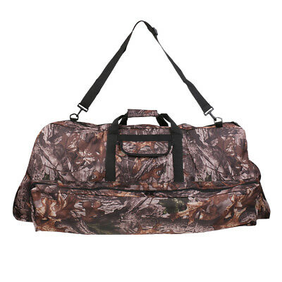 Camo Recurve Compound Bow Bag Protective Case Cover Arrow Holder Backpack