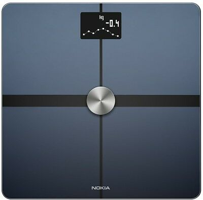 Nokia Body+ and ndash; Body Composition Wi-Fi Scale, black