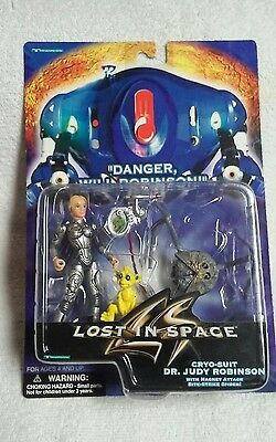 Trendmasters 1997 Lost In Space Movie Dr. Judy Robinson Cryo-Suit Figure NEW