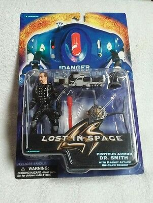 Lost in Space Danger Will Robinson  Proteus Armor DR. Smith with rip claw spider