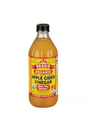 ✅Bragg Organic Apple Cider Vinegar With The Mother Raw & Unfiltered 473ml