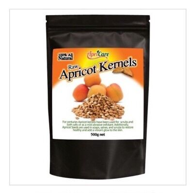 ✅APRICARE Apricot Kernels  Raw 500g