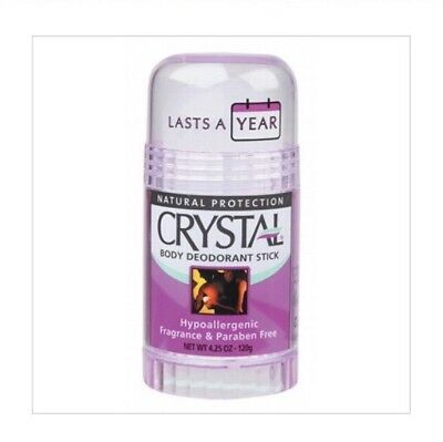 ✅Body CRYSTAL DEODORANT STICK 120g - Free of Fragrance, Aluminium & Alcohol