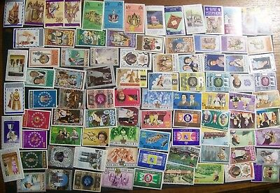 Queen Elizabeth II Silver Jubliee 1977 - 170 different stamps, good range (18A)